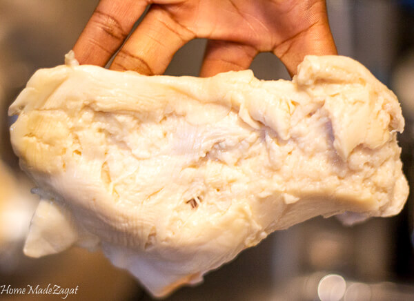 Preparing and cooking conch meat