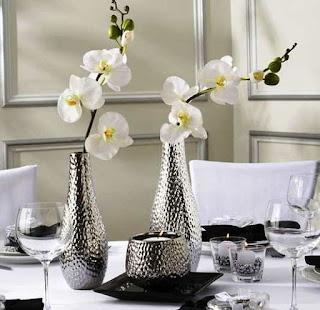Bunga Hiasan Meja Ruang Tamu, Cara Memancing Rumah Baru