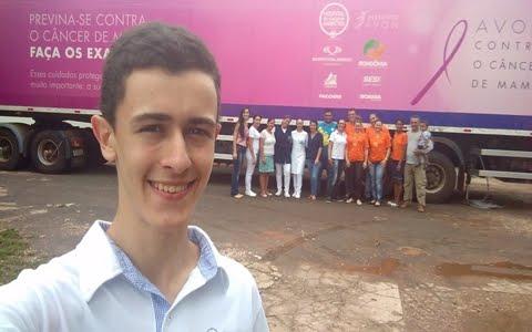 Carreta do hospital de Câncer de Barretos estará em Pimenta Bueno
