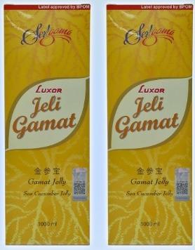Jeli Gamat Luxor 1 Liter