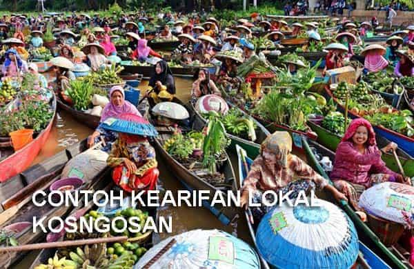 contoh kearifan lokal indonesia
