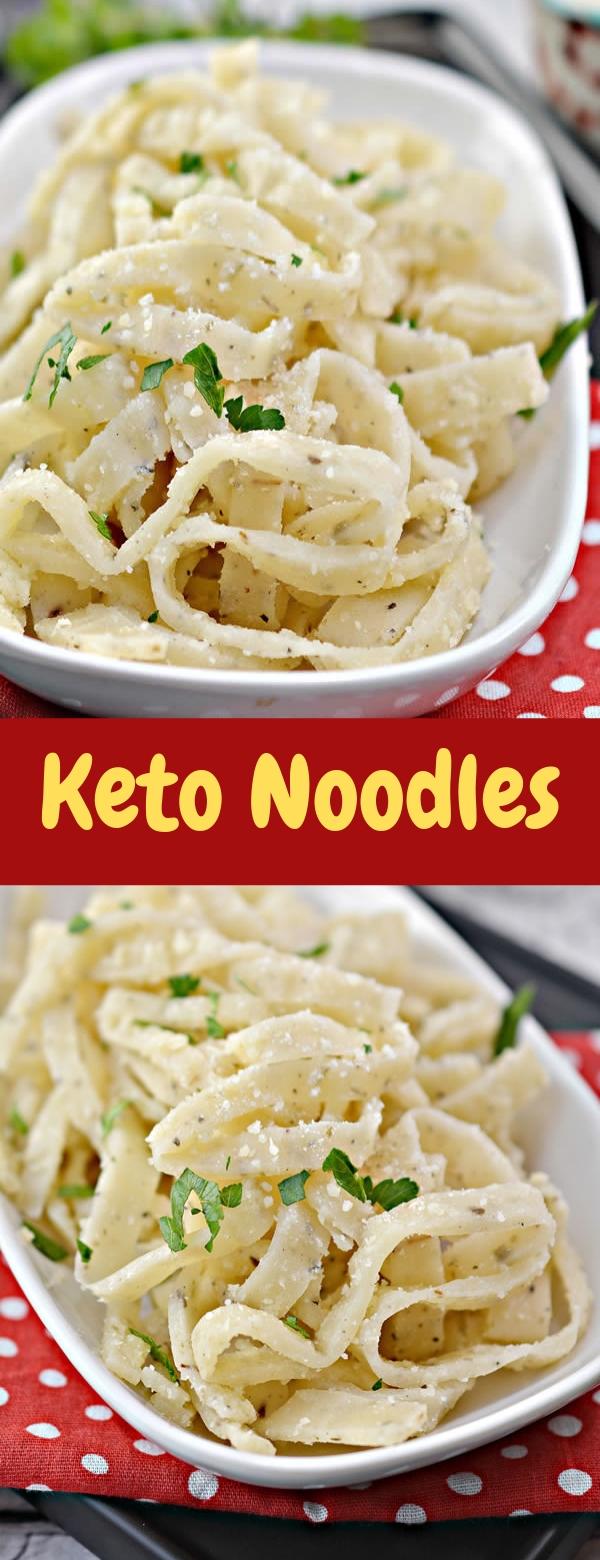 Keto Noodles #Noodles #KETORECIPES