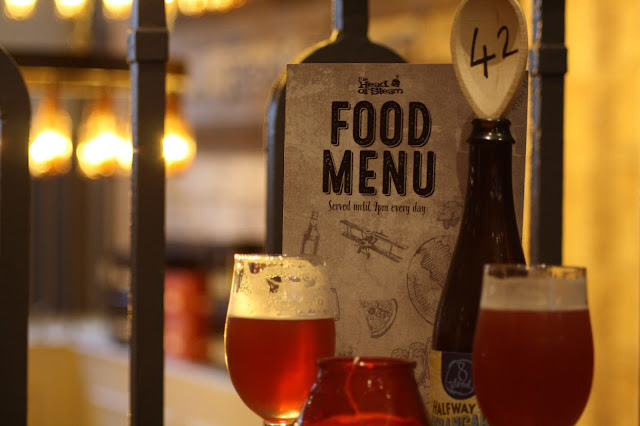 Head of Steam Leicester food beer craft review