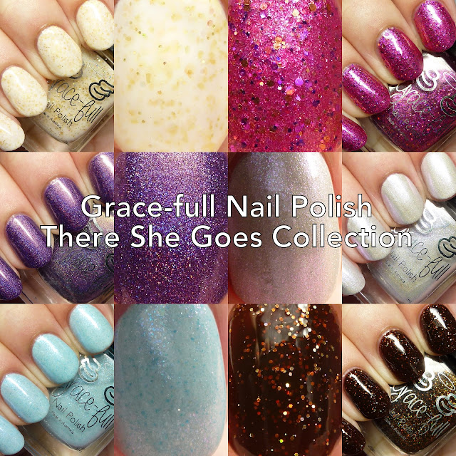 Grace-full Nail Polish There She Goes Collection