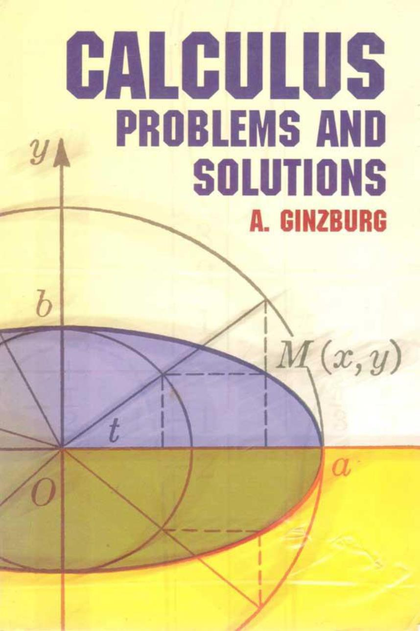 Calculus Problems and Solutions – A. Ginzburg
