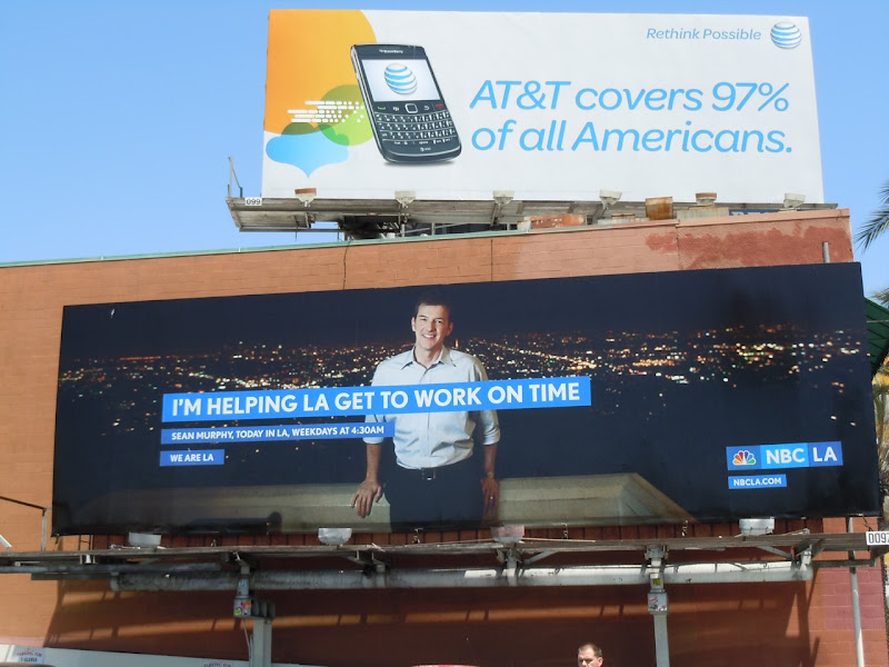 Getting LA to work billboard