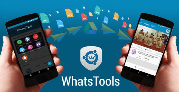 Cara Mengirim Berbagai File Pada Aplikasi WhatsApp via Whatstools