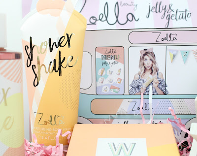 Zoella Beauty Jelly & Gelato Collection Review Shower Shake