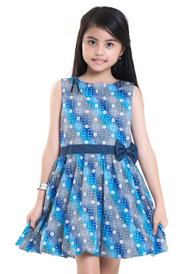 Model Baju Batik Anak Perempuan Mini Dress