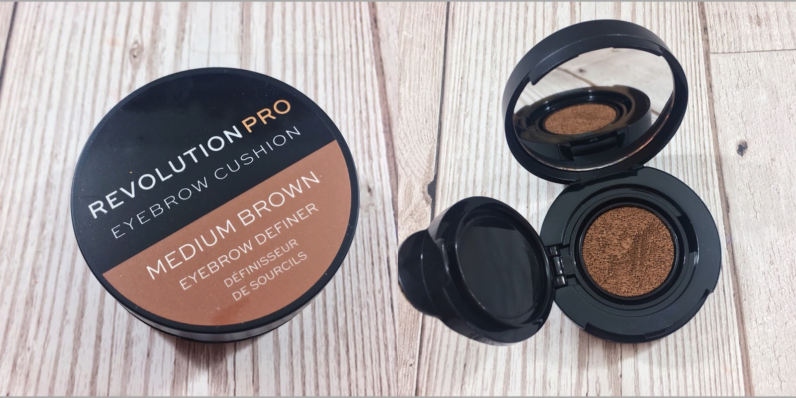 Review Revolution Pro Eyebrow Cushion Gimmicky Matbeauty