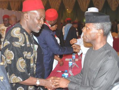 IPOB Biafra Osinbajo