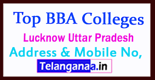 Top BBA Colleges in Lucknow Uttar Pradesh