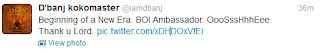 1 - D'banj is the new ambassador for Bank of Industry