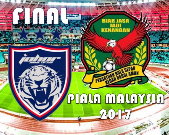 Live Streaming Keputusan Kedah Vs Jdt Final Piala Malaysia 4 11 2017 Mobile