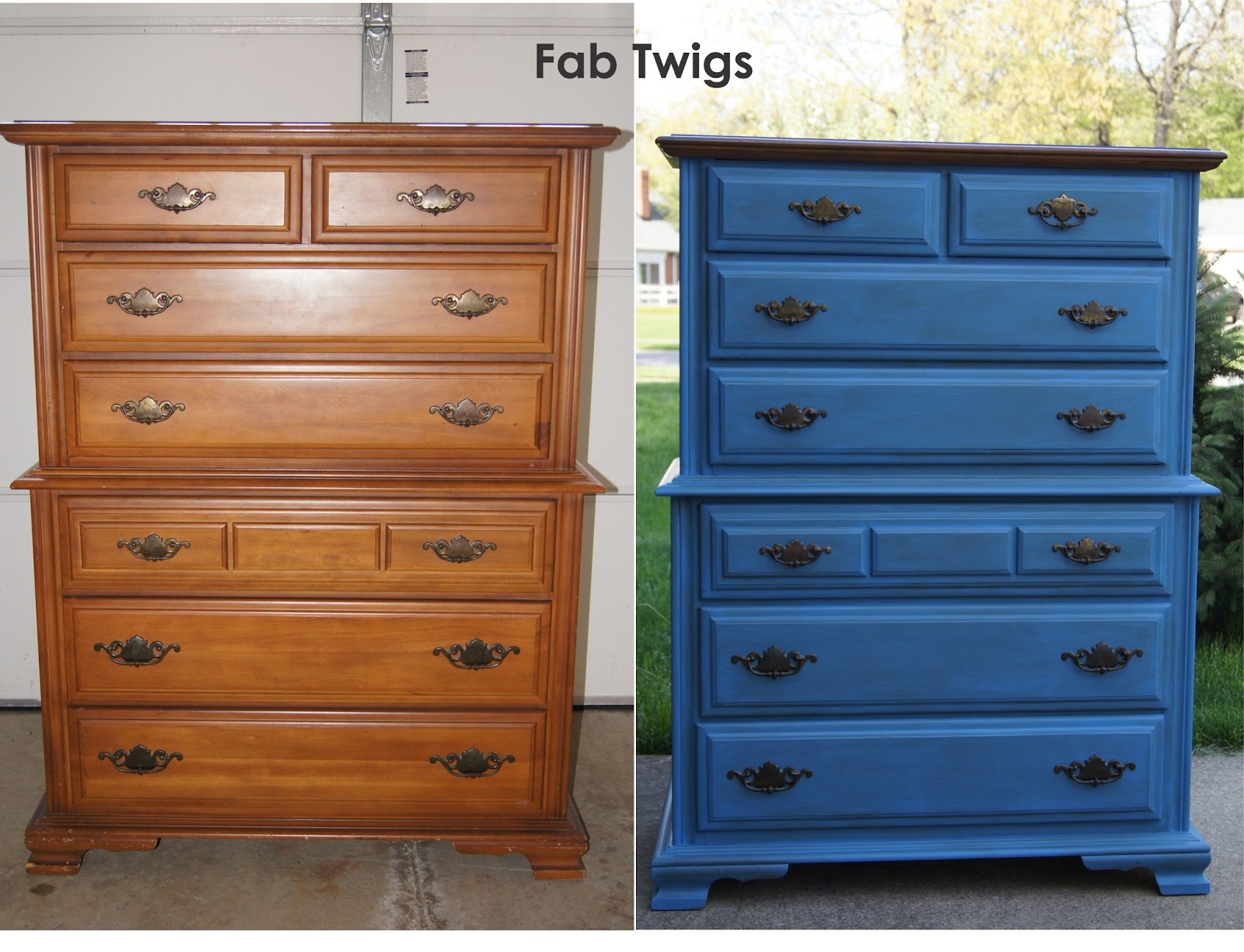 Fabtwigs Dresser Transformation Painting Furniture With