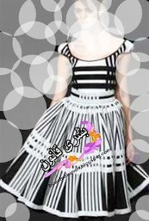 b7d03d98b تفصيل تنورة كلوش بكسرات 2014 , طريقة خياطة تنورة كلوش بكسرات 2014