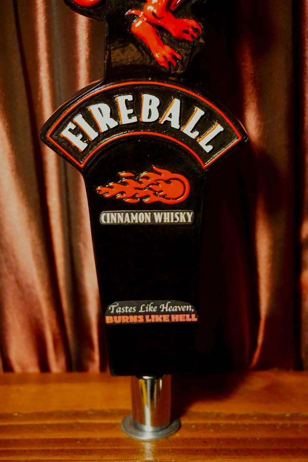 Amazing Tap Handles: Tap Handle #546: Sazerac - Fireball