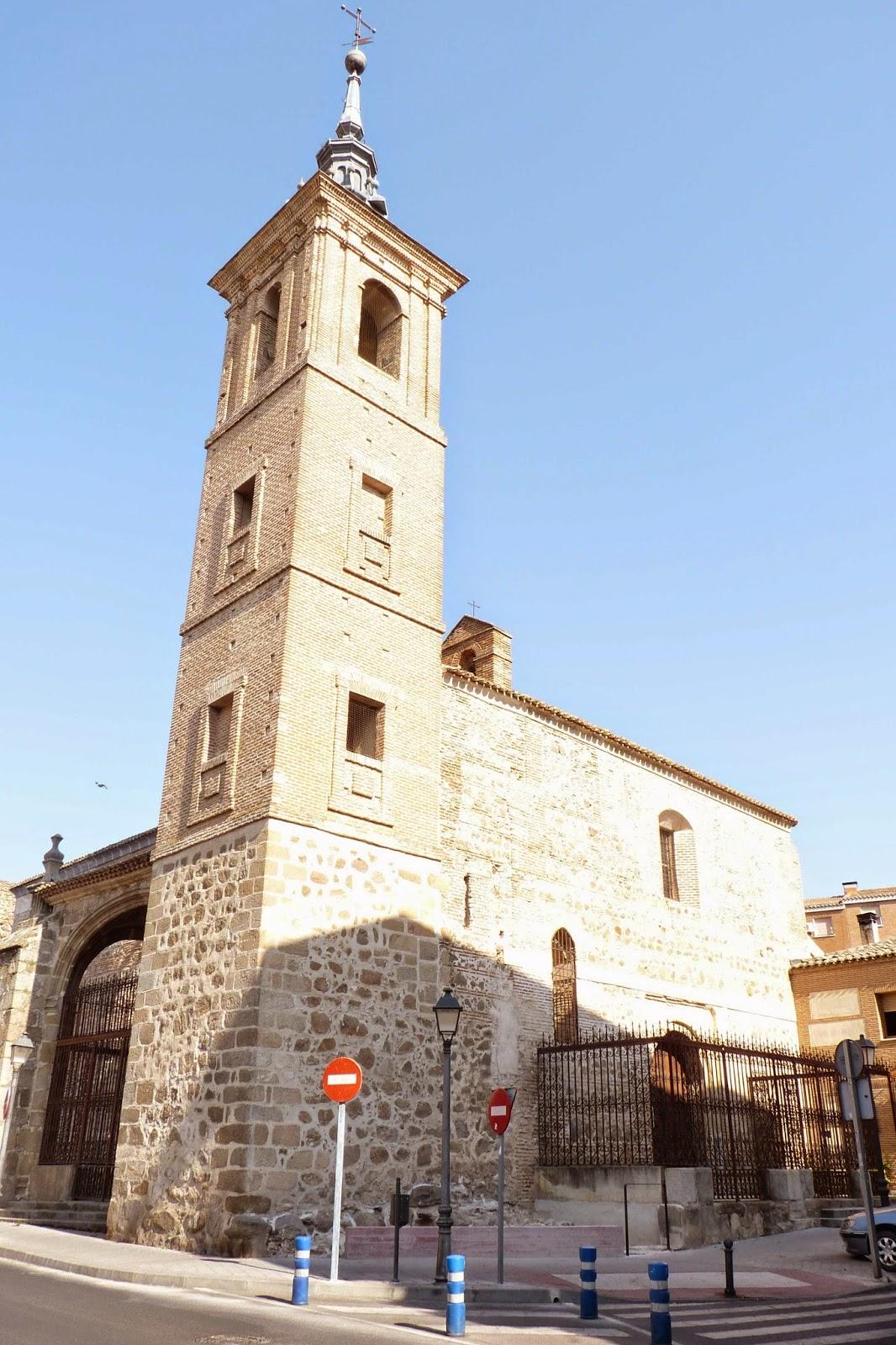 La iglesia del El Salvador en Talavera de la Reina.