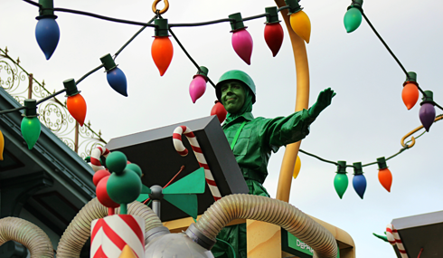disneyland christmas parade