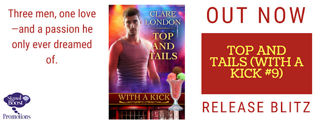 Release Blitz - Top & Tails - Clare London