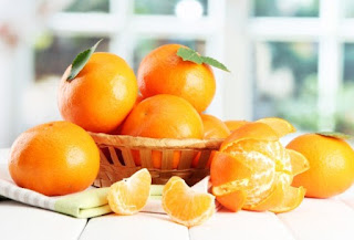 мандарины стол дольки