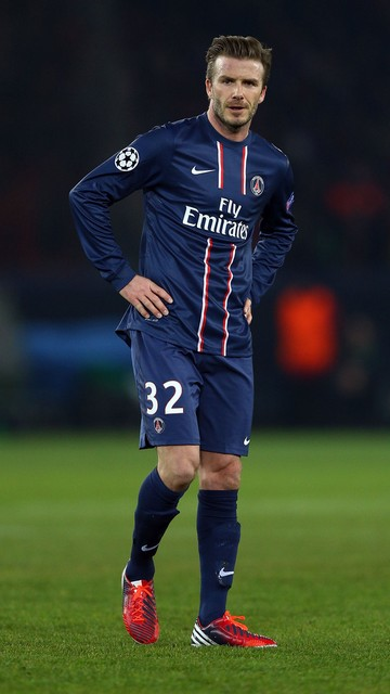 Football Players Wallpapers David Beckham Paris Saint Germain Wallpapers 2013