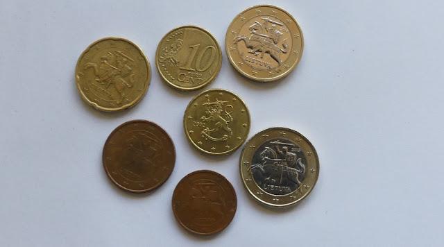 Litauische Euromünzen