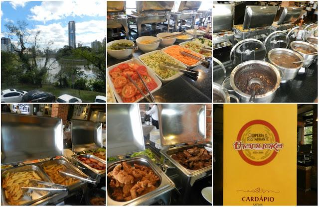 Onde (e o que) comer em Blumenau - Thapyoca Choperia e Restaurante