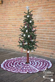 Christmas Pine Tree Skirt