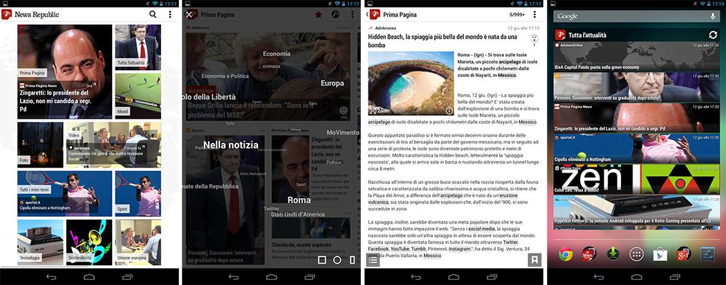 Le migliori App News e Notizie del 2015 per Android
