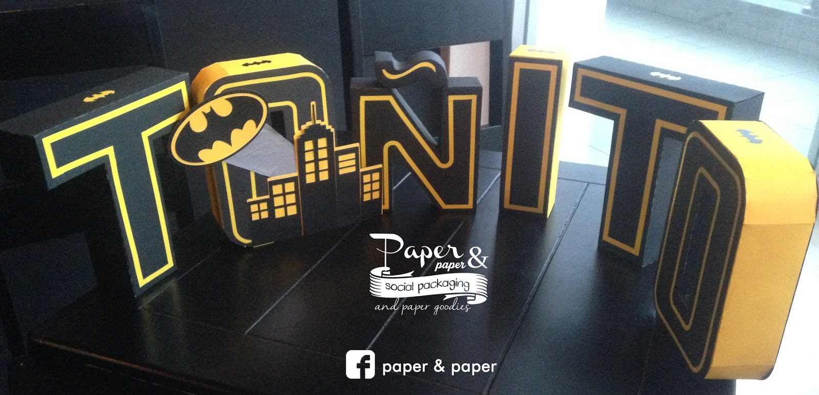 Letras 3d Paper And Paper