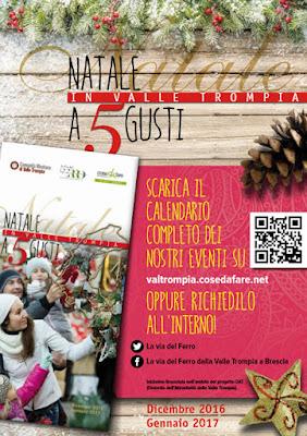 Natale a 5 Gusti fino al 22 gennaio Valle Trompia (BS)