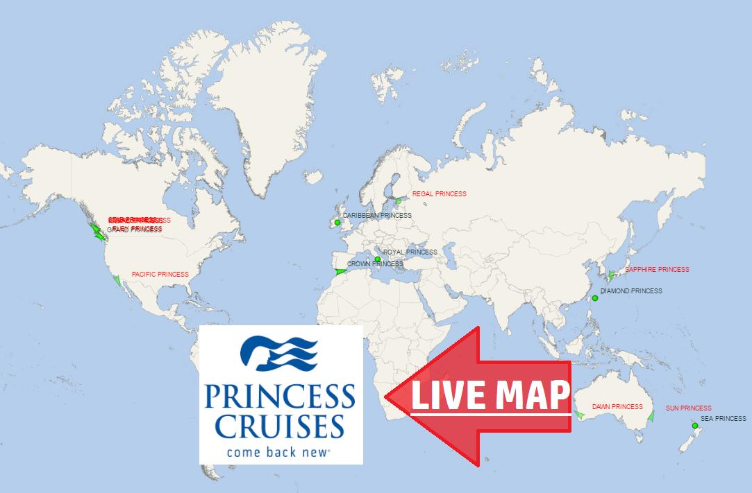 Princess Cruises Tracker