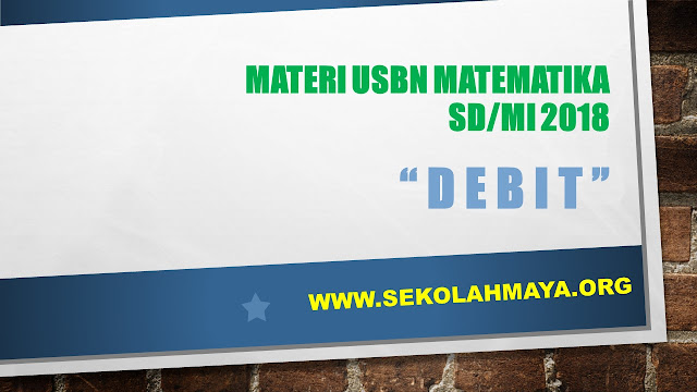 Contoh Soal Matematika: Debit