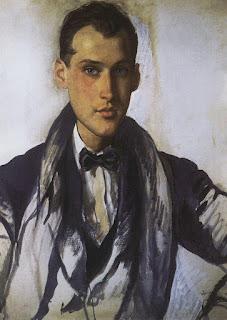Зинаида Серебрякова. Портрет С. Эрнста. 1921