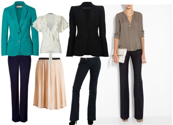Jackets for pear shaped women