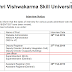Revised schedule  of interview for Law Officer posts in Shri Vishwakarma Skill University