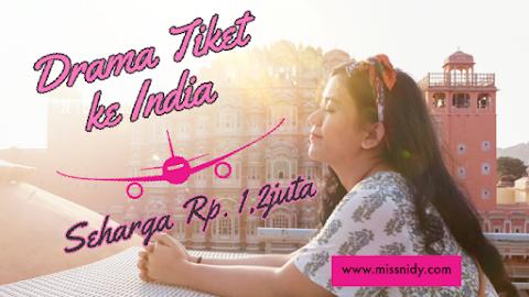 #Part2 Lika-liku Drama Tiket PP Jet Airways Seharga Rp. 1,2juta ke India