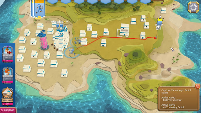 Screenshot from Godus Wars