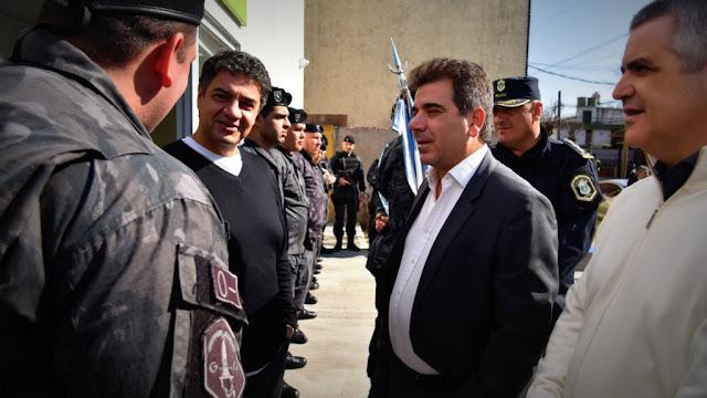 Ritondo y Jorge Macri inauguraron destacamento policial en Vicente López