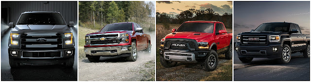 America's top 4 trucks