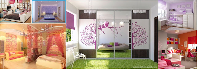 Girls Bedrooms With An Average Area Size