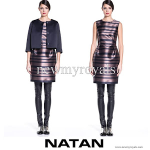 Queen Maxima Style NATAN Dress and Jacket