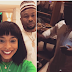 Wait a minute! Did Tboss just get snubbed by Tonto Dikeh's estranged husband, Churchill?