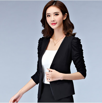 blazer black stylish