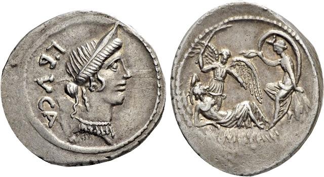 denarius Sulla's dream