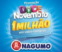 Promoção Doce Novembro Nagumo Supermercados - Um milhão em vale-compras