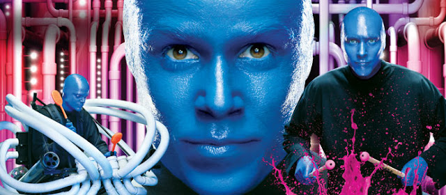 Show do Blue Man Group em Orlando na Universal