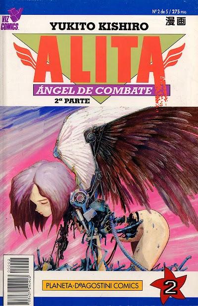 GUNNM (Alita angel de combate)[MANGA][TOMOS 12/12][PDF][ESPAÑOL][MEGA]