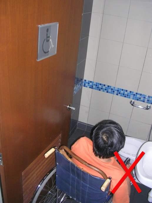 Wheelchair Access Penang (wapenang): Toilet (WC) For